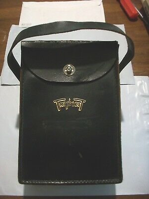 Vintage Triplett Hard Leather Case for Your VOM. Fits Many Brands