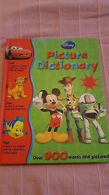 Disney Picture Dictionary book