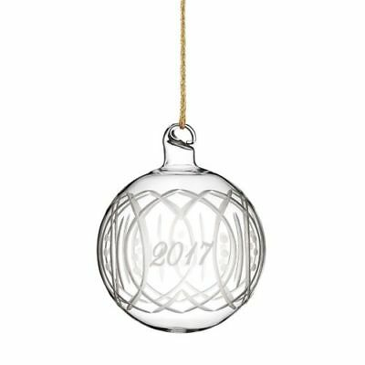 Marquis By Waterford 2017 Annual Ball Ornament, NIB