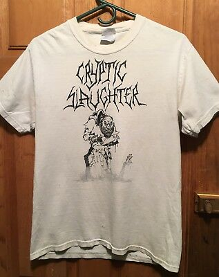 Cryptic Slaughter Shirt Size Small DRI AOD Napalm Death Thrash MDC Siege