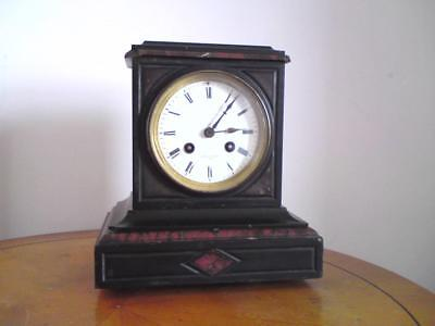 DENT 61 Strand London with Honoré Pons movement slate / marble mantel clock