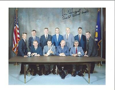 Autograph, Hand Signed Scientist Astronaut ; Anthony Llewellyn. Now Deceased