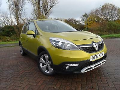 RENAULT SCENIC XMOD 1.5dCi EDC DYNAMIQUE TOM TOM AUTOMATIC 2013 13 REG