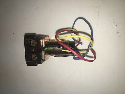 New Ge Rr8 Remote Control Relay 125/277 Vac 20 Amp 4 Wire