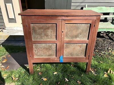 19Th Century Southern Pie Safe In Paint