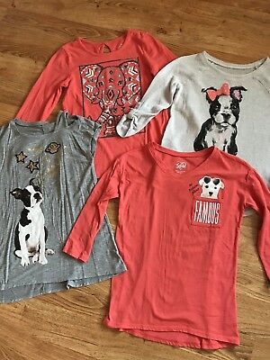 Girls Cute JUSTICE Shirt Lot!! Size 8-10