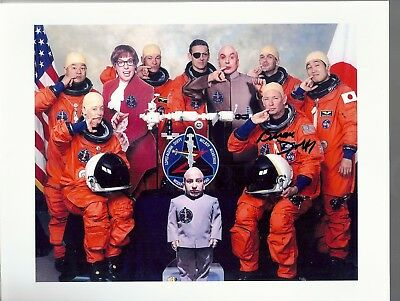Autograph, Hand Signed  Sts-92 Astronaut: Brian Duffy Funny Crew Photo