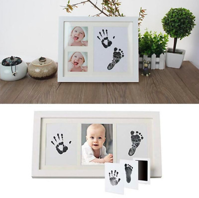 Personalized Baby Hand And Footprint Frame Inkless Handprint Kit