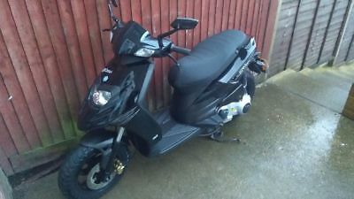 Piaggio Typhoon 125 4t Learner Legal Scooter MOT Ready To Ride Serviced
