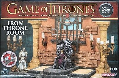 Game of Thrones McFarlane Toys Building Set - Iron Throne Room 314 Pieces Teile