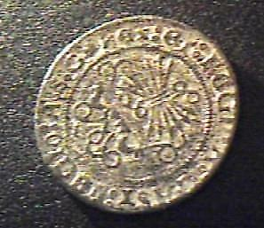 Unidentified Old Coin 8g Greek/Roman? 25mm Diameter Silver? from old Collection!