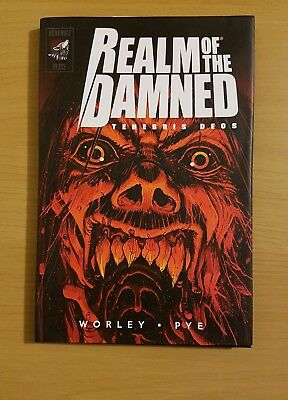 Realm Of The Damned Tenebris Deos, By Worley Pye. (graphic novel ,comic horror)