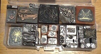 Selection of Letterpress Blocks and Ornaments Adana