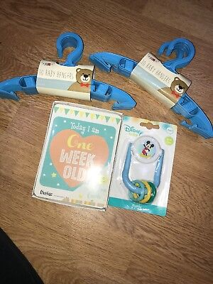 Baby Milestone Disney Baby Toy 20 Baby Hanger Baby's Shower First Christmas