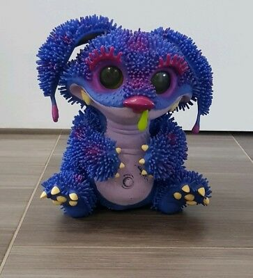 XENO Interactive Pet Monster Toy - Purple Blue & Pink - Working