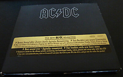 AC/DC - Back in Black (Special Edition Digipack), CD, Remastered! Fan-Booklet