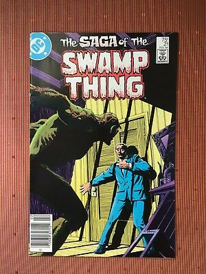D.C. The Saga of Swamp Thing #21, VF to NM condition one owner