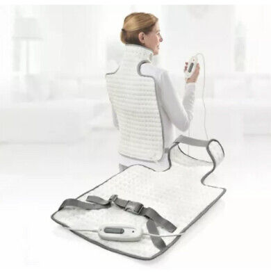 NEW Sanitas Back and Neck Heating Soft and cosy heating pad Pad rapid heat-up