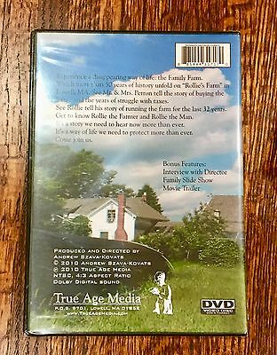 The Last Farm in Lowell (DVD, 2010) Motion Picture Portrait of Rollie's Farm