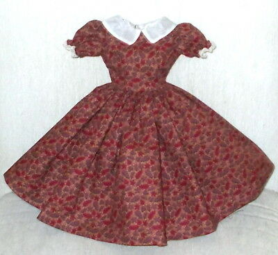 "20""  CISSY  Miss REVLON  FASHION  Clothes  FALLING AUTUMN LEAVES & ORGANDY DRESS"
