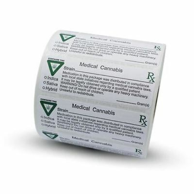 Michigan Medical Label with THC Label