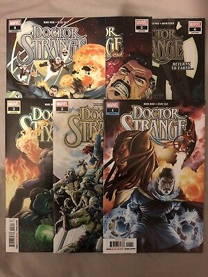 Doctor Strange (2018) 1 to 6 by Mark Waid & Jesus Saiz (Marvel) 1st Prints