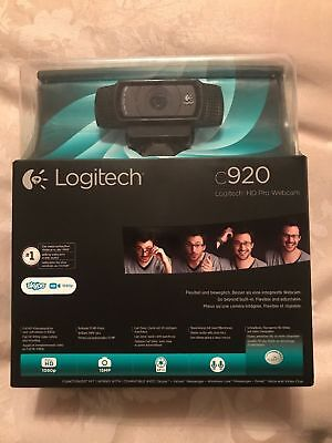 Logitech 960-000767 HD Pro C920 Brand New And Boxed