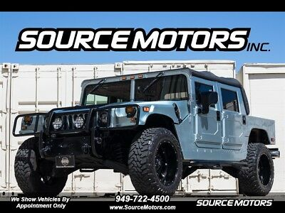 "2003 H1 Open Top 2003 Hummer H1 Open Top, Turbo Diesel, 4x4, 22"" Fuel Wheels, LED's Premium Sound"