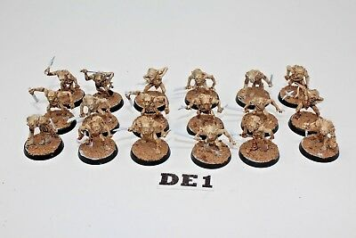 Warhammer Lord of the Rings Goblin Town Goblins - DE1