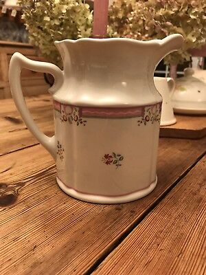 Laura Ashley 'Alice' Large Ditsy Floral Jug Pink White
