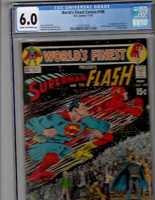 Worlds Finest 198 CGC 6.0 Superman vs Flash