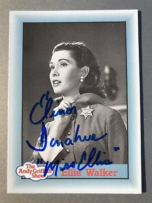 Elinor Donahue Ellie AUTHENTIC HAND SIGNED Sports Card The Andy Griffith Show