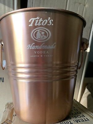 tito s handmade vodka Ice Bucket