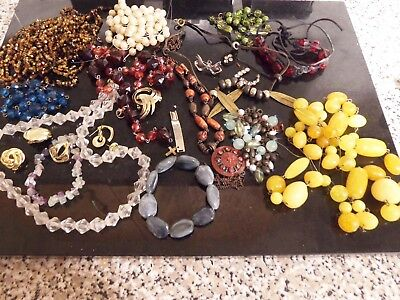 job lot of costume jewellery 385 grams