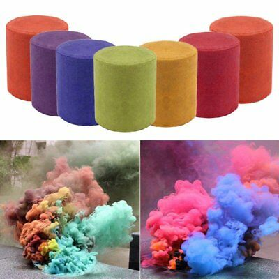 Studio Photography Props DIY Colorful Smoke Cake Smoke Effect Maker For Party 2