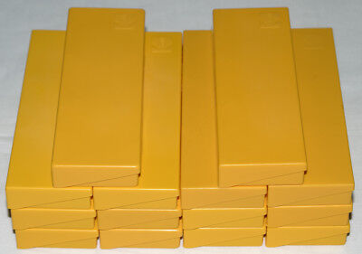14 x Kodachrome 35mm Yellow Slide Storage Boxes with Lids