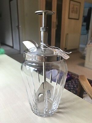 """Art Deco Vintage Cocktail Shaker- """"The Rapid""""- stunning and rare"""