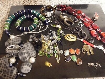 job lot of costume jewellery 457 grams