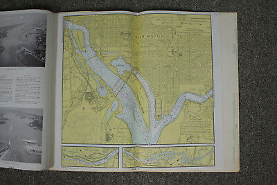 Potomac River Washington DC Vintage Original Sailing Map Nautical Chart #101