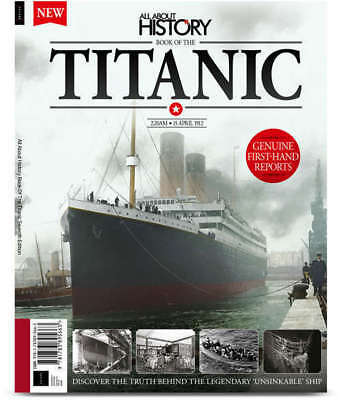 All about history Book of the Titanic 7th Edition NEW UNREAD