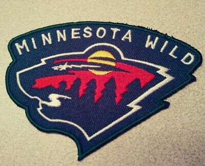 huge discount c127d 1d4c5 Minnesota Wild Embroidered Patch NHL Hockey