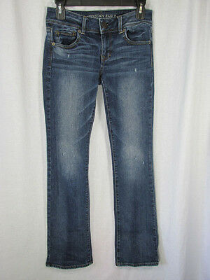 American Eagle Outfitters AEO Kick Boot Stretch Jeans sz 4 Reg (28 x 31)
