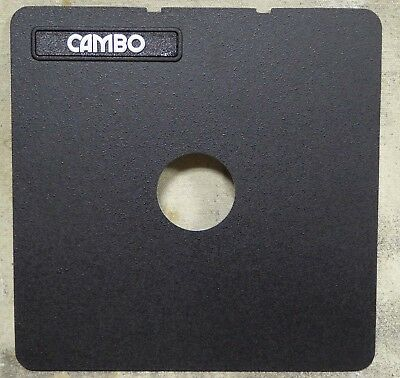 CAMBO Calumet LENS BOARD 163mm x 163mm  for Copal 0 Shutter 4x5 camera