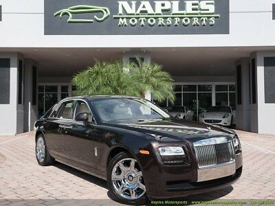 2014 Rolls-Royce Ghost  2014 Rolls-Royce Ghost, Heads Up, Driver Assist, Chrome Wheels, Panorama Roof