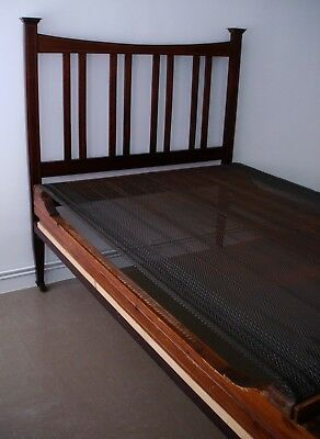 Antique/ Edwardian 4Ft Wide Bed - Collection Only