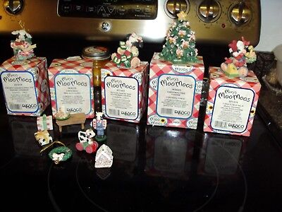 Lot of 5 Mary's Moo Moos Christmas Collection