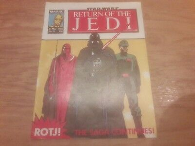 Star Wars Return Of The Jedi Comic. No.151. 10Th May 1986. Marvel Comics Uk.