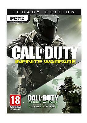 Call of Duty: Infinite Warfare Legacy Edition (PC DVD) Modern FPS Shooter Game