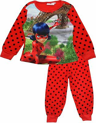 Miraculous Ladybug Girls Kids Winter Fleece Pyjamas