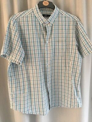 Mens Short Sleeve Shirt By  F&f. Size Is Xl